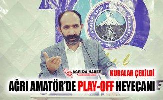 Ağrı Amatör'de U-19 Ligi Play-Off Kuraları Çekildi