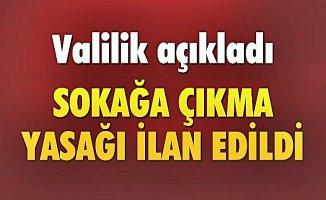 Diyarbakır'da Sokağa Çıkma Yasağı! PKK operasyonu başladı