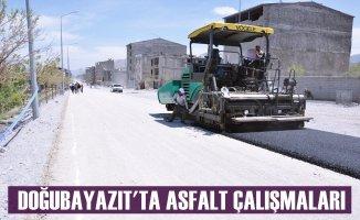 Doğubayazıt Belediyesi Asfalt Çalışmaları