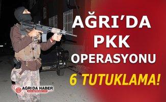 Ağrı'da PKK Operasyonunda 6 Tutuklama