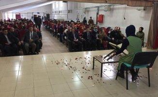 Ağrı Hamur'da Mevlid-i Nebi Etkinliği