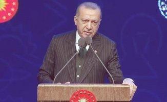 Cumhurbaşkanı Erdoğan TÜBİTAK ve TÜBA ödül töreninde konuştu