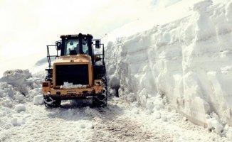 Doğu Anadolu'da 242 yerleşim birimi kar nedeniyle ulaşıma kapandı