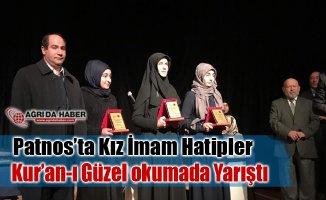 Patnos'ta Kız İmam Hatipleri Arası Genç Nida Kuran-ı Kerim'i Güzel okuma yarışması
