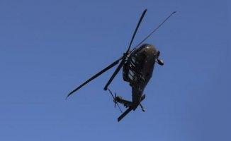 Rusya'da askeri helikopter düştü!