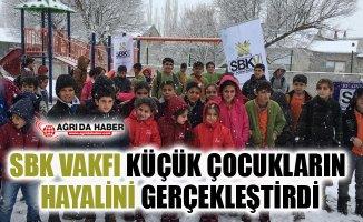 SBK Vakfı, çocukların hayallerini gerçekleştirdi