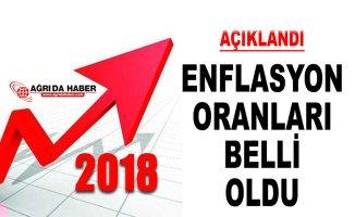 2018 Yılı Enflasyon Rakamları Açıklandı