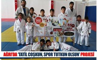 Ağrı'da 'Tatil Coşkun Spor Tutkun Olsun' Projesi