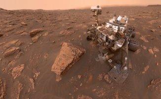 NASA'nın Marstaki Aracı Curiosity'den İlk Selfie