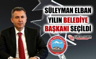 Süleyman Elban Yılın Kayyum Belediye Başkanı Seçildi