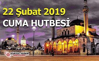 22 Şubat 2019 Diyanet Cuma Hutbesi - Yaşlılara Hürmet