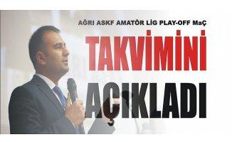 Ağrı Amatör Ligi'nde Play-Off Maç Takvimi Açıklandı