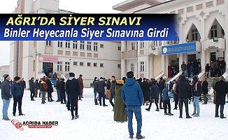 Ağrı'da Binler Heyecanla Siyer Sınavına Girdi