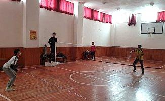 Eleşkirt'te Bedminton Turnuvası Finalleri