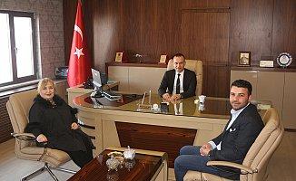 İbrahim Çeçen Vakfı Müdüründen Mehmet Faruk Tekin'e Ziyaret