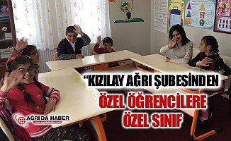 Türk Kızılay'ı Ağrı Şubesinden Özel Öğrencilere Özel Destek