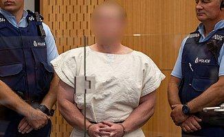 Yeni Zelanda'da Camiye Saldıran Terörist İlk Mahkemesine Çıktı!