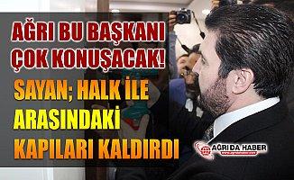 Ağrı Belediye Başkanı Savcı Sayan Süleyman Elban'dan Koltuğu Devraldı