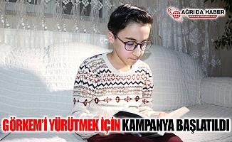 Ağrı Eleşkirt'te Küçük Görkem'i Yürütebilmek İçin Kampanya Başlatıldı