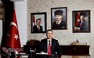 Ağrı Valisi Süleyman Elban'ın 10 Nisan Polis Haftası Mesajı