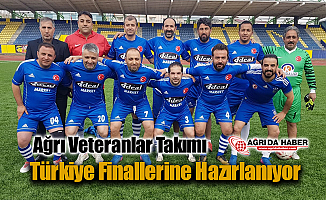 Ağrı Veteranlar Takımı, Türkiye Finallerine Hazırlanıyor