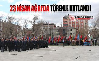 Ağrı'da 23 Nisan Ulusal Egemenlik ve Çocuk Bayramı Neşeyle Kutlandı!