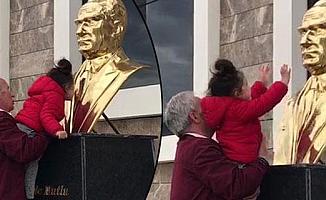 Çağla'nın Atatürk sevgisi Böyle yansıdı!