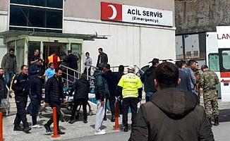 Çukurca'da Teröristlere Taciz Ateşi