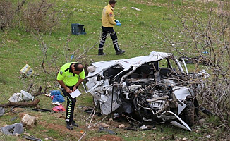 Diyarbakır'da Korkunç kaza!