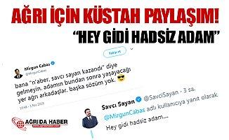 Mirgün Cabas'tan Küstah Paylaşıma Savcı Sayan'dan Cevap!