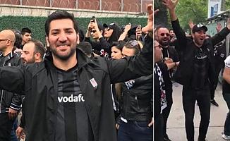 Çukur'un Mahsun'u Beşiktaş Tribününde Coştu