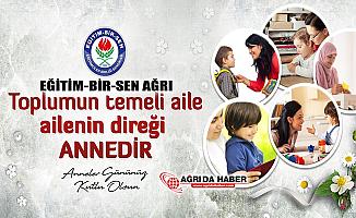 Eğitim-Bir-Sen Ağrı Şube Yönetimi Anneler Günü Basın Açıklaması