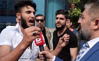 """Suriyeli Göçmenden Şok Açıklama """"Kafa Keseceğim"""""""