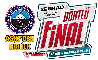 Ağrı ASKF Serhad İllerini Futbolla Biraraya Getirecek