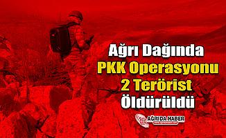 Ağrı Dağın'da PKK Operasyonu 2 Terörist Öldürüldü!