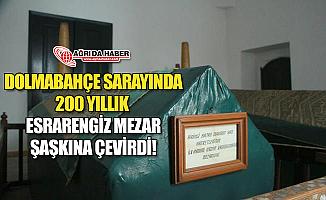 Dolmabahçe Sarayında 200 Yıllık Esrarengiz Mezar Şaşkına Çevirdi!
