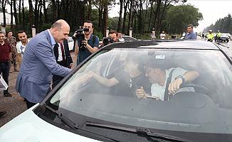 İçişleri Bakanı Süleyman Soyludan Trafik Kontrolü