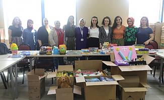 KO-MEK Ağrı ve Adıyaman'daki köy okullarına hediye