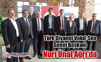 Türk Diyanet Vakıf-Sen Genel Başkanı Nuri Ünal Ağrı'da