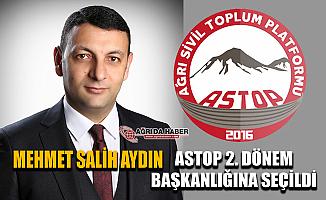 Ağrı Baro Başkanı Av. Mehmet Salih Aydın ATSOP Başkanı oldu