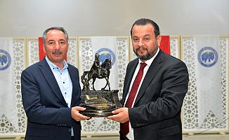 AİÇÜ Rektörü Prof. Dr. Abdulhalik Karabulut Rektörler Toplantısında