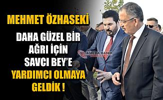 Ak Parti Genel Başkan Yardımcısı Mehmet Özhaseki Ağrı'da