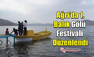 Ağrı'da 1. Balık Gölü Festivali düzenlendi