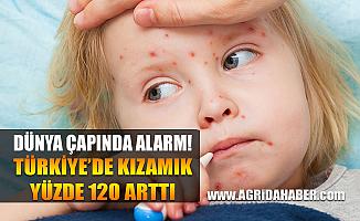 Dünya çapında kızamık Alarmı! Türkiye'de Kızamık Yüzde 120 Arttı