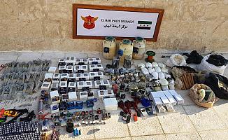 El Bab'ta 1 ton patlayıcı bulundu
