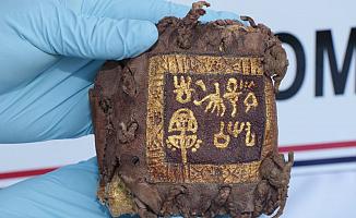 Roma Dönemine ait Altın Yazmalar Ele Geçirildi