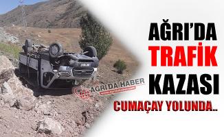 Ağrı Cumaçay Yolunda Trafik Kazası!