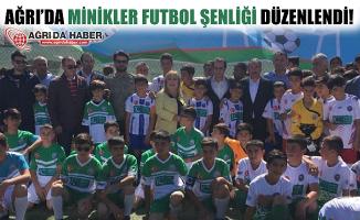 Ağrı'da Minikler Futbol Şenliği Düzenlendi!