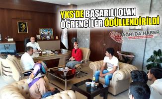 Ağrı'da YKS'de Başarılı Olan Öğrenciler Ödüllendirildi!