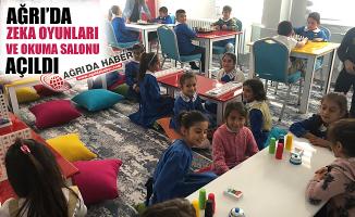 Ağrı'da Zeka Oyunları ve Okuma Salonu Açıldı!